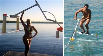 Gan sportam, gan izklaidei: Ātrākais ūdens pārvietošanās līdzeklis WATERBIRD ar 40% atlaidi no interneta veikala 689.LV