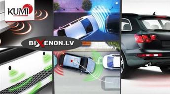 Parkošanās sensoru komplekts + LED displejs. Noparkot auto ir viegli! -59%
