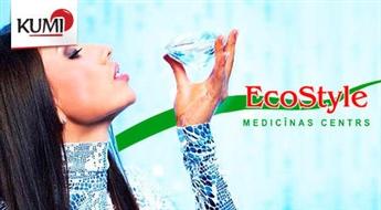 Dimantu mikrodermabrāzija - sejas tīrīšana ar dimantu kristāliem medecīnas centrā Eco Style -50%