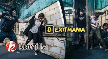 Aizraujošs kvests «Lopkautuve» no Exitmania.lv kompānijai līdz 4 cilvēkiem (16+)
