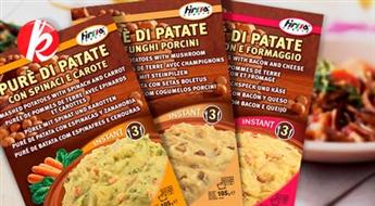 Ātri pagatavojamas pusdienas itāļu gaumē: Kartupeļu biezeņi ar dažādām garšām (1 iepakojums 3 porcijām) -79%