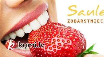 «Saules Zobārstniecība»: pilna profesionālā zobu ultraskaņas higiēnas procedūra
