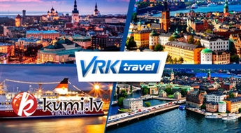 VRK Travel: 3 dienu kruīzs maršrutā Tallina-Helsinki-Stokholma (ar transfēru Rīga-Tallina). Brauciens garantēts!