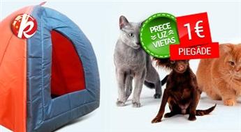 Mājiņa-paslēptuve kaķiem vai maziem suņiem (32 x 32 x 42 cm) -64%