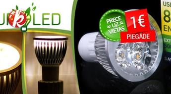 LED spuldze GU10 6W no VISIONAL. Premium kvalitāte! Saņem līdz 90% mazākus rēķinus par elektrību! -72%