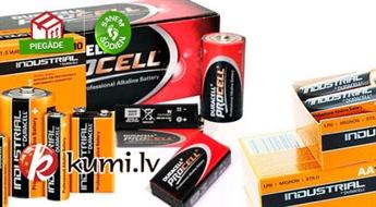 """Duracell ProCell"" AA/AAA/C/D/9V profesionālās baterijas"