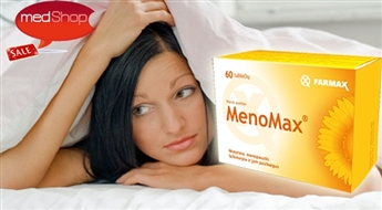 FARMAX: MenoMax - dabiskam līdzsvaram menopauzes laikā un pēc tās
