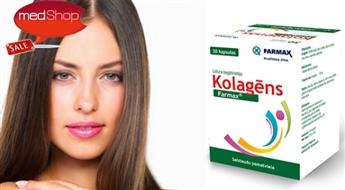 FARMAX: Kolagēns N30 skaistai ādai, veselām locītavām un stiprai imunitātei!