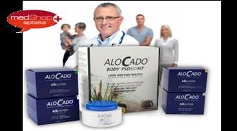 Atbrīvo ādu no psoriāzes ar inovatīvo Alocado PSOAID līdzekļu komplektu!