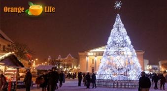 Sagaidām neaizmirstamus Ziemassvētkus Viļņas Vecpilsētā tikai par 19,90 LVL. Izbraukšana no Rīgas 26.decembrī.
