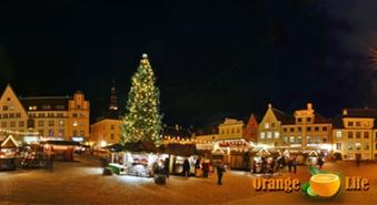 Ziemassvētkos dodies uz vienu no skaistākajām Igaunijas pilsētām –Tartu tikai par 12,90 LVL, izbraukšana no Rīgas 25. decembrī.