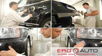 Tavs auto vienmēr kā svaigi krāsots – auto pulēšana ar 50 % atlaidi!