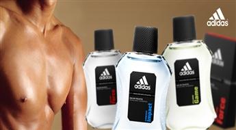PIEGĀDE VISĀ LATVIJĀ! Vīriešu tualetes ūdens Аdidas EDT pēc Jūsu izvēles! Iepriecini savu vīrieti ar patīkamu dāvanu!