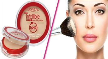 L'Oreal Indefectible sejas pūderis, tikai par 4.70 EUR!