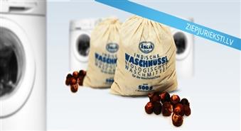 Ekoloģiski tīrs produkts – Indijas ziepju rieksti (500 gr.) ar 50% atlaidi! Lielisks sadzīves ķīmijas aizstājējs!
