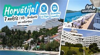 Burvīgā Horvātija! Lidojums + Viesnīca GRAND HOTEL NEUM 4* + Transfērs! Pavadiet neaizmirstamas brīvdienas Adriatiskās jūras krastā!