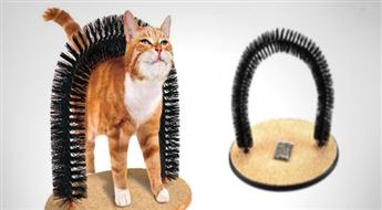 PIEGĀDE VISĀ LATVIJĀ!  Noderīga rotaļlieta Jūsu mājas mīlulim - Statīvs-nagu asināmais kaķiem ar atlaidi!