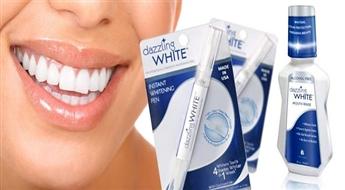 Žilbinošam smaidam! Zobu balināšanas zīmulis ABSOLUTE WHITE WHITENING PEN VAI ABSOLUTE WHITE MOUTH WASH mutes dobuma skalošanas līdzeklis ar atlaidi! Viegli, ātri, ērti!