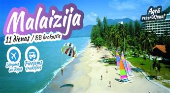Pati dievinātākā valsts uz planētas – Malaizija! Kuala Lumpur + Kota Kinabalu! 11 dienas pasakā! Lieliska izvēle, neaizmirstamam atvaļinājumam!