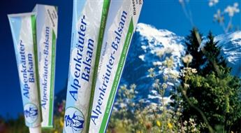 Противовоспалительный охлаждающий антибактериальный бальзам для тела с Альпийскими травами широкого применения Lacure Alpenkräuter Balsam для детей и взрослых со скидкой 60%