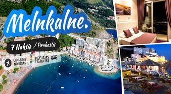 Melnkalne - Vidusjūras pērle! Lidojums + Viesnīca Ponta Nova 4* + Transfērs!
