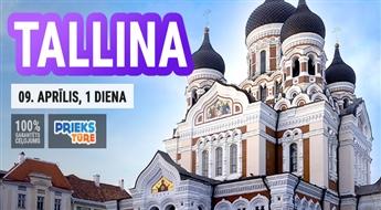Pavadiet neaizmirstamu un burvīgu dienu Tallinā! Neaizmirstama diena igauņu gaumē!
