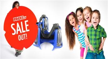 PIEGĀDE VISĀ LATVIJĀ! Riteņi – skrituļi bērniem Flashing Rollers tikai par 3.99 Eur!