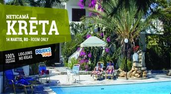 Neticamā Krēta! Lidojums + Viesnīca Eleana Apartments 2* + Transfērs! Izbaudiet neticamu atpūtu labākajās Krētas pludmalēs!
