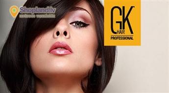 GK Hair: Matu krāsošana Ombre tehnikā vai 1 tonī + griezums ar karstajām šķērēm + maska
