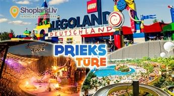Berlīne bērniem un pieagušajiem! Berlīne – Lego pasaule - Zoo – Halloween nakts Bābelsbergas kino parkā! 4 dienas!