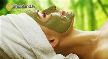 Zaļās tējas SPA  rituāls: ķermeņa un sejas masāža + maska (90.min.)