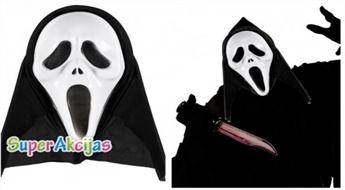 "Karnevāla maska ""Scream"""