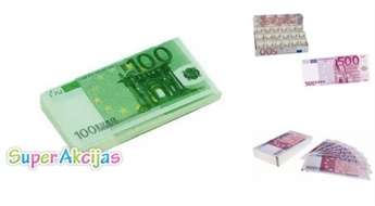 Papīra Salvetes (100 un 500 eiro)