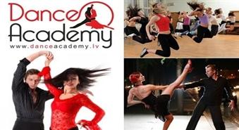 """Īpašais piedāvājums DĀMĀM! 80% liela atlaide ugunīgajiem deju kursiem """"Latino Per Una"""" no DANCE ACADEMY!"""