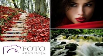 """FotoAkadēmijas """"Fotogrāfēšanas pamati"""" pie pasniedzēja Māra Kundziņa ar 50% atlaidi!"""