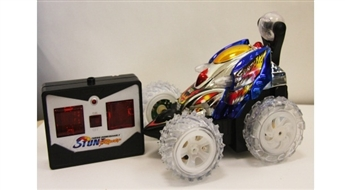 R/C Stunt Super Turbo Somersault Racer