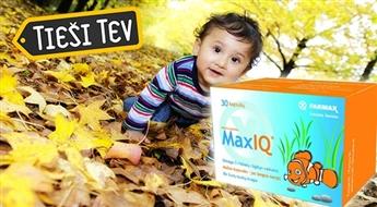 FARMAX: MaxIQ - Omega-3 taukskābes bērniem