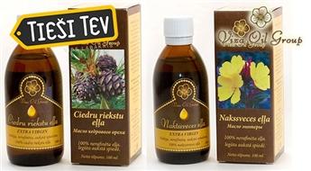 Viza Oil: Высокоценное масло вечерней примулы или масло кедрового ореха (100 мл) для красоты и здоровья