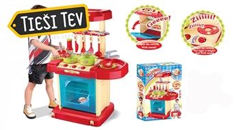 KinderKraft rotaļu virtuve (dažādi modeļi)