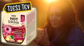 VITAR:  Revital®  karstais dzēriens ar ehinaceju, ingveru un vitamīnu C