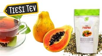 Sasmalcinātas papaijas lapas (100 g ) - antioksidantu un minerālvielu avots