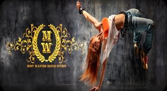 """Progresīvākās deju studijas """"Most Wanted""""  mēneša apmācību abonements ar 58 % atlaidi"""