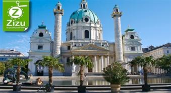 Burvīgā Vīne, dvēseliskā Bratislava un Mocarta pilsēta Zalcburga ar 44% atlaidi. Tas ir kas vairāk nekā ceļojums!