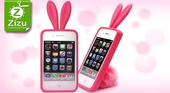 Amizanti Apple iPhone 4 vai 4S vāciņi zaķīša vai citplanētieša veidolā tikai par Ls 4. Izcelies no pūļa!