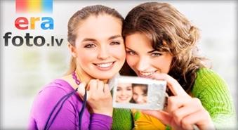 Vasara cauru gadu jūsu fotoalbumā: 50% atlaide digitālo 10x15 fotogrāfiju izdrukai