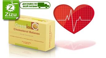 """Uztura bagātinātājs """"Greenice Cholesterol Balanss N30"""" sirds-asinsvadu sistēmai un sliktā holesterīna samazināšanai tikai par Ls 3,5. Piegāde VISĀ LATVIJĀ!"""