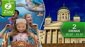 Divu dienu ģimenes kruīzs uz Helsinkiem un Tamperi: atrakciju parki, akvārijs, delfinārijs, planetārijs un daudz kas cits – tikai par Ls 69. Brīnumu zeme Somija!