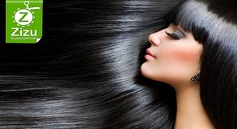 Keratīna matu taisnošana ar 50% atlaidi. Apburošais gludo matu šarms!