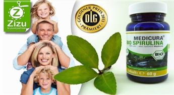 """Unikāls uztura bagātinātājs """"Bio Spirulina"""" (150 tabletes) tikai par Ls 6. Gadu tūkstošos pārbaudīts dabas spēks!"""