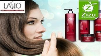 Keratīna matu taisnošana ar LASIO keratīnu bez formaldehīda ar 51% atlaidi!